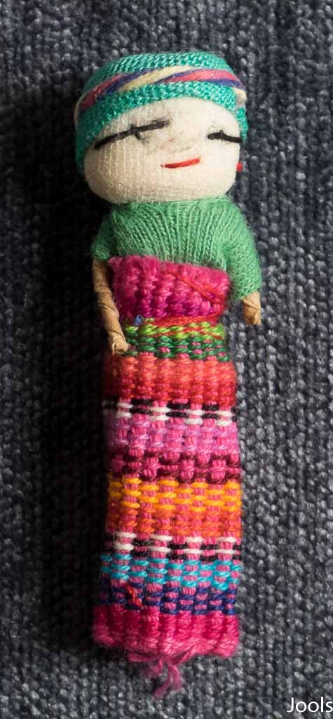 Mayan doll